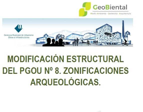 PGOU Zonificaciones Arqueológicas