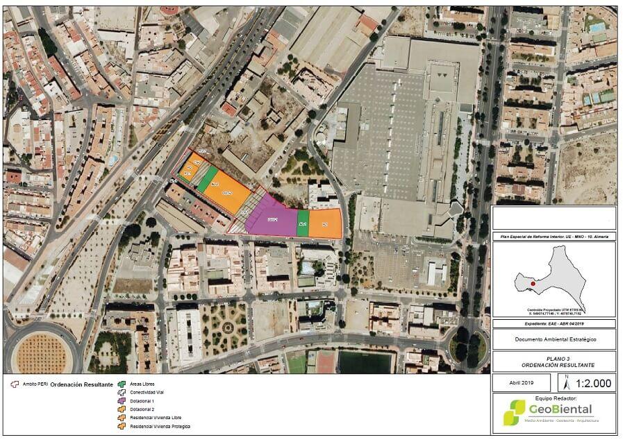 reforma interior pgou almeria 2 mapa