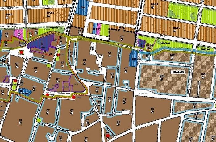 Instrumentos de planeamiento urbanístico mapa2 geobiental