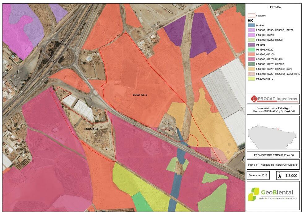 Evaluación Ambiental Estratégica - Almeria - Urb. Ventas del Podre