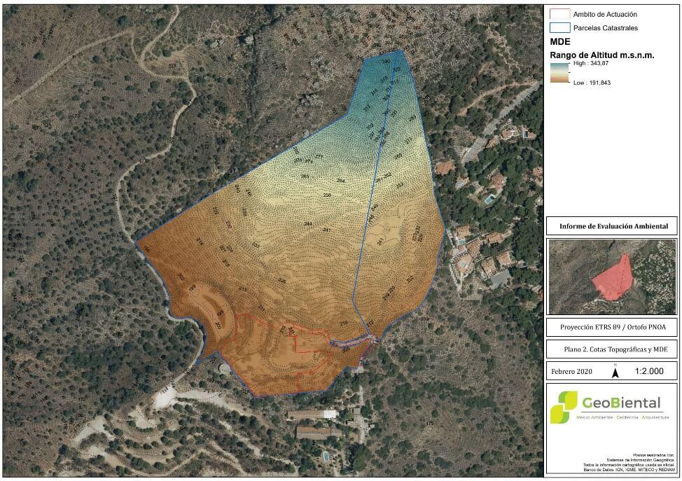 Informe de Evaluacion Ambiental Huerta del Conde