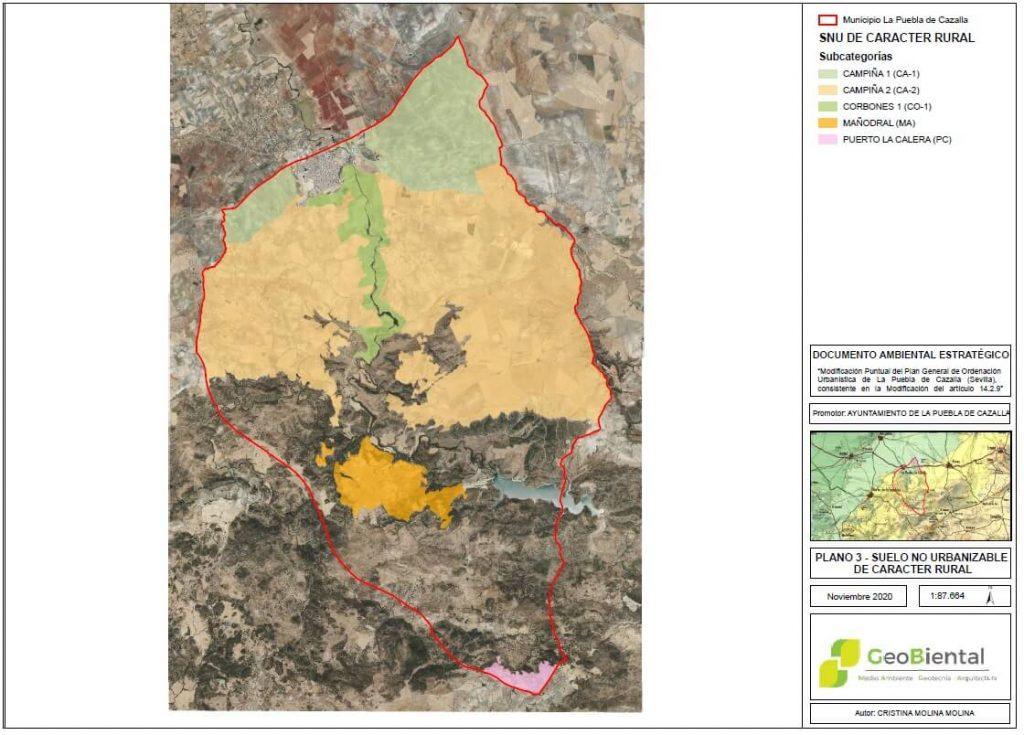 documento ambiental estrategico puebla de cazalla sevilla