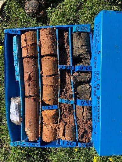 caja de muestras estudio geotecnico geobiental